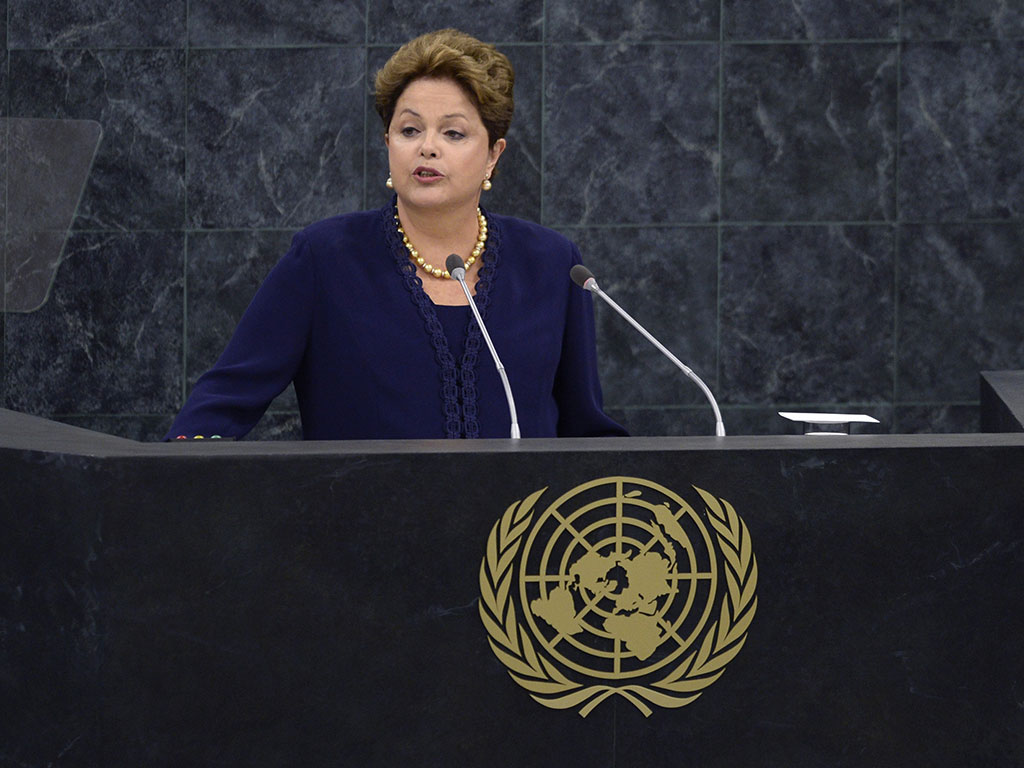 President of Brazil Dilma Rousseff