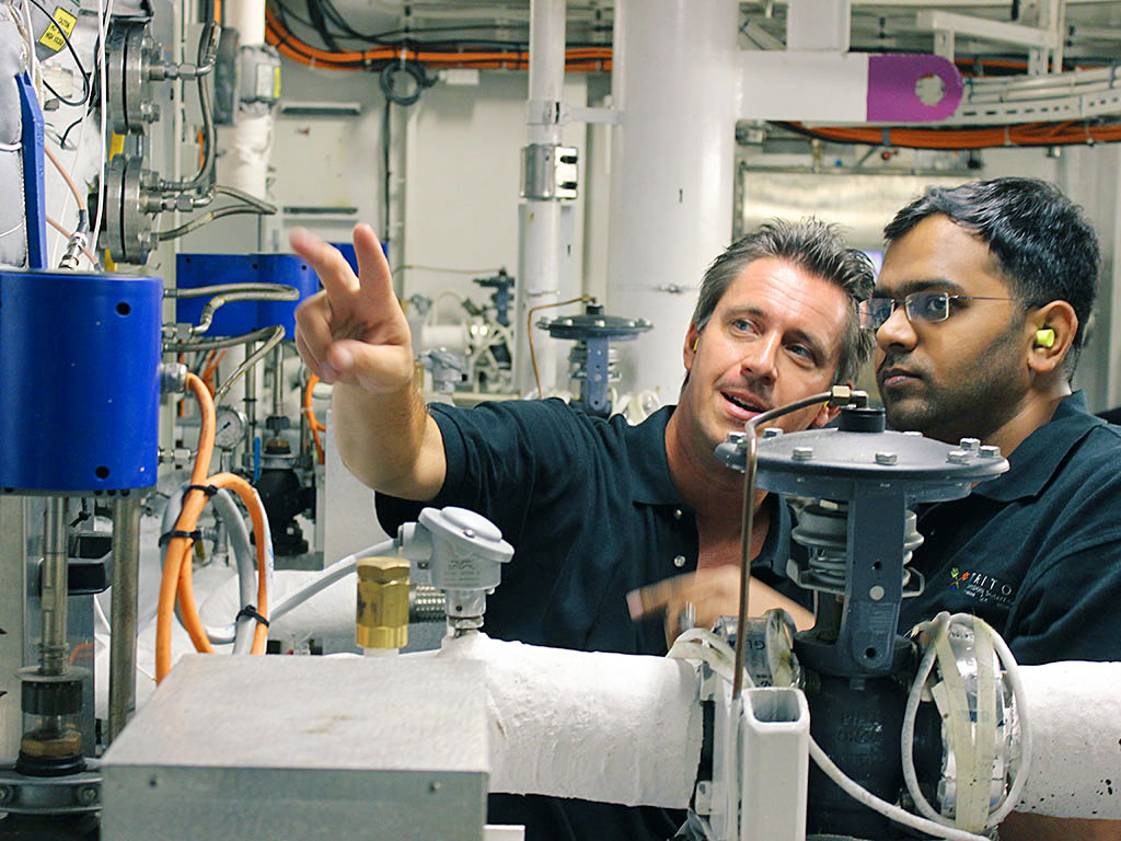 Rasmus Norling (l), President and CTO, and Mohamed Hameed (r), Vice President of Engineering